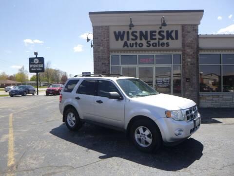 2011 Ford Escape for sale at Wisneski Auto Sales, Inc. in Green Bay WI