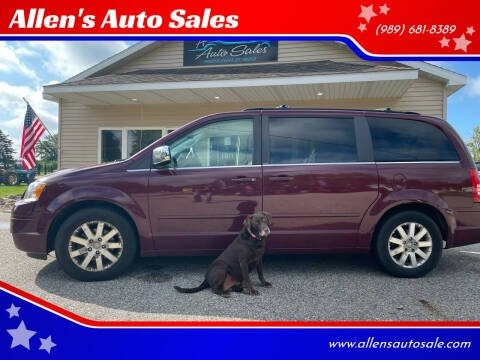 2008 Chrysler Town and Country for sale at Allen's Auto Sales in Saint Louis MI