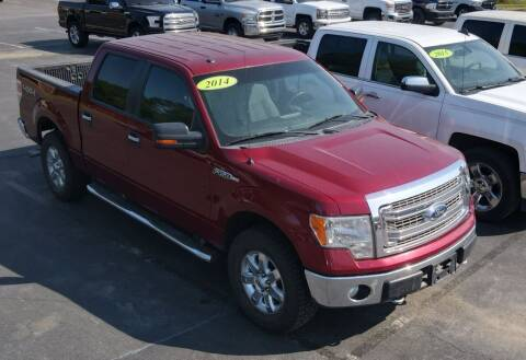 2014 Ford F-150 for sale at Apex Auto Group in Cabot AR