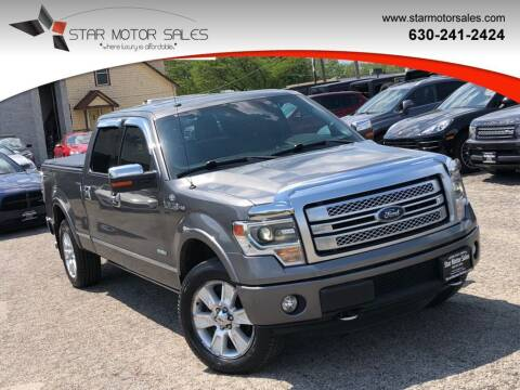 2013 Ford F-150 for sale at Star Motor Sales in Downers Grove IL