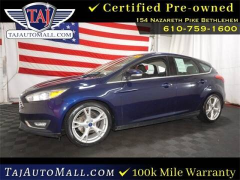 2016 Ford Focus for sale at Taj Auto Mall in Bethlehem PA