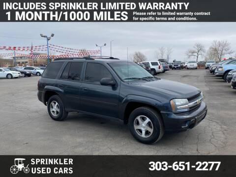 2006 Chevrolet TrailBlazer for sale at Sprinkler Used Cars in Longmont CO