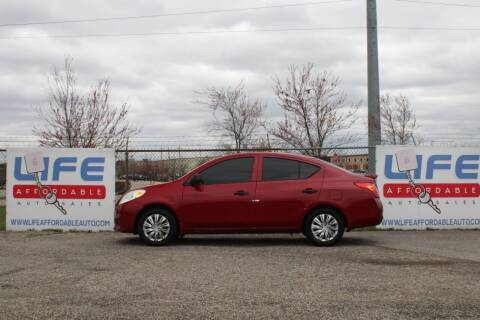 2013 Nissan Versa for sale at LIFE AFFORDABLE AUTO SALES in Columbus OH