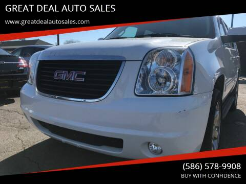 2014 GMC Yukon for sale at GREAT DEAL AUTO SALES in Center Line MI