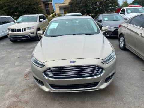 2015 Ford Fusion for sale at J Franklin Auto Sales in Macon GA