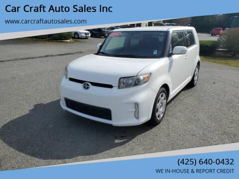 2014 Scion xB for sale at Car Craft Auto Sales Inc in Lynnwood WA