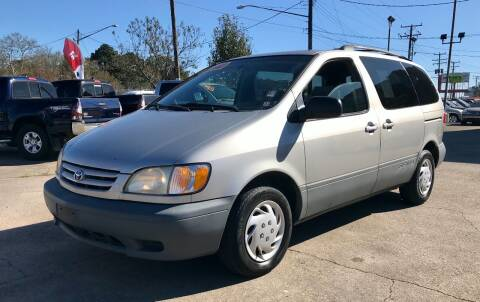 2002 Toyota Sienna for sale at Steve's Auto Sales in Norfolk VA