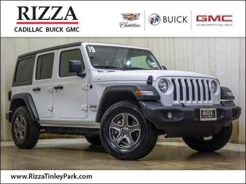 2019 Jeep Wrangler Unlimited for sale at Rizza Buick GMC Cadillac in Tinley Park IL