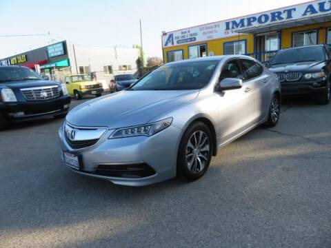 2015 Acura TLX for sale at Import Auto World in Hayward CA