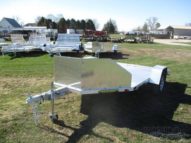 2022 Aluma Aluminum Single Axle Utility M for sale at Rondo Truck & Trailer in Sycamore IL