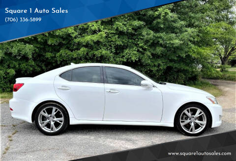 2009 Lexus IS 250 for sale at Square 1 Auto Sales - Commerce in Commerce GA