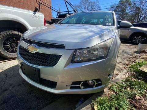 2013 Chevrolet Cruze for sale at Atlanta's Best Auto Brokers in Marietta GA