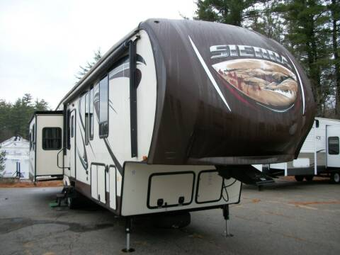 2016 Keystone Sierra 371REBH for sale at Olde Bay RV in Rochester NH