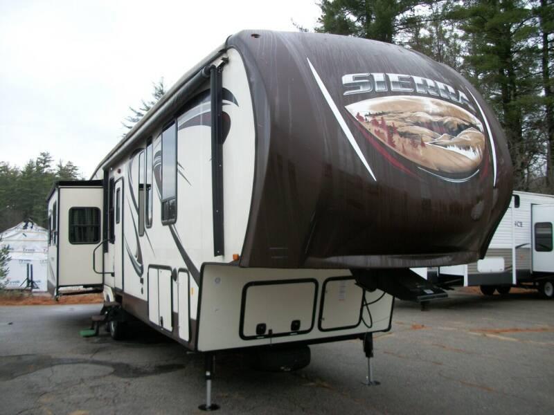 2016 Keystone Sierra 371REBH for sale at Olde Bay RV in Rochester NH