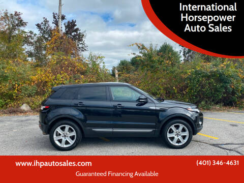 2013 Land Rover Range Rover Evoque for sale at International Horsepower Auto Sales in Warwick RI