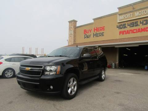 2012 Chevrolet Suburban for sale at Import Motors in Bethany OK