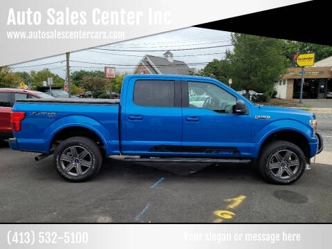 2020 Ford F-150 for sale at Auto Sales Center Inc in Holyoke MA