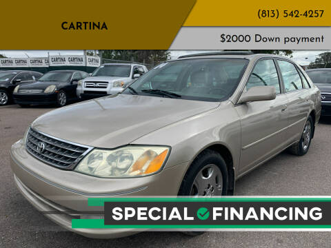 2004 Toyota Avalon for sale at Cartina in Tampa FL