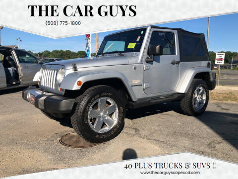 2008 Jeep Wrangler for sale at The Car Guys in Hyannis MA