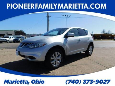 2012 Nissan Murano for sale at Pioneer Family preowned autos in Williamstown WV