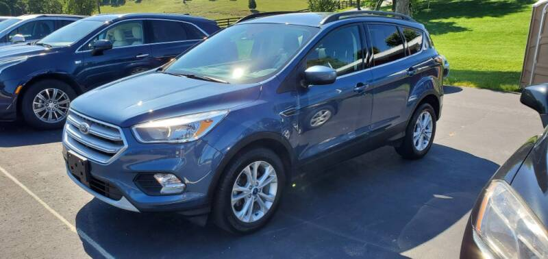 2018 Ford Escape for sale at Gallia Auto Sales in Bidwell OH