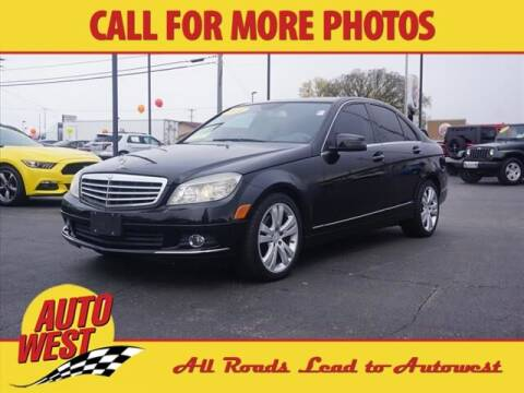 2010 Mercedes-Benz C-Class for sale at Autowest of Plainwell in Plainwell MI