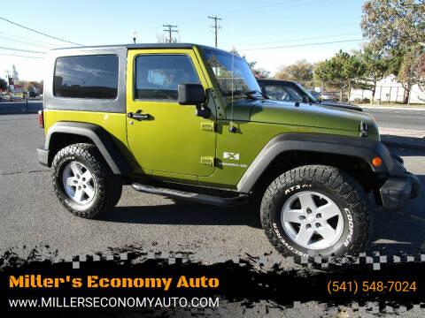 2008 Jeep Wrangler for sale at Power Edge Motorsports- Millers Economy Auto in Redmond OR