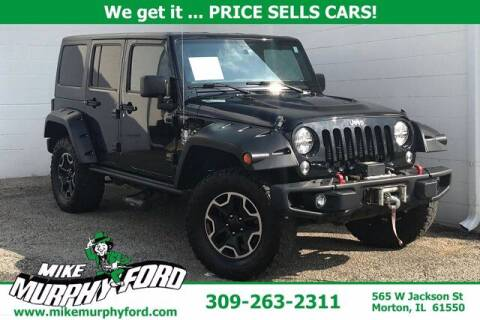 2016 Jeep Wrangler Unlimited for sale at Mike Murphy Ford in Morton IL