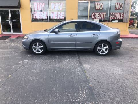 2005 Mazda MAZDA3 for sale at BSS AUTO SALES INC in Eustis FL