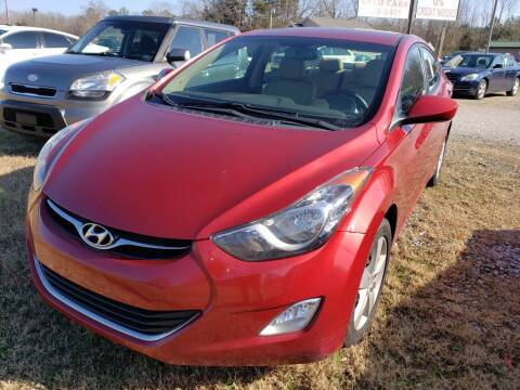2012 Hyundai Elantra for sale at Scarletts Cars in Camden TN