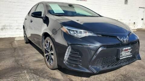 2018 Toyota Corolla for sale at ADVANTAGE AUTO SALES INC in Bell CA