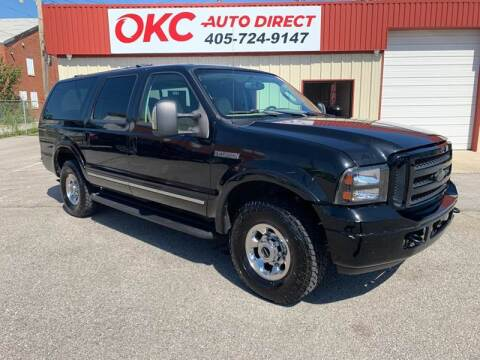2005 Ford Excursion for sale at OKC Auto Direct in Oklahoma City OK