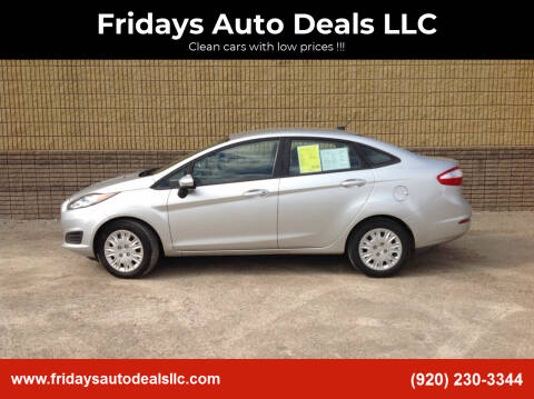 2014 Ford Fiesta for sale at Fridays Auto Deals LLC in Oshkosh WI
