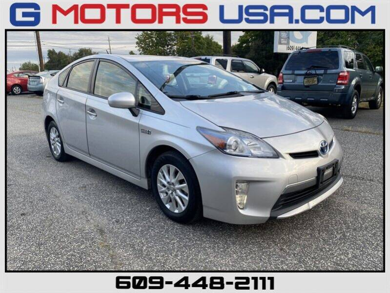 2013 Toyota Prius Plug-in Hybrid for sale at G Motors in Monroe NJ
