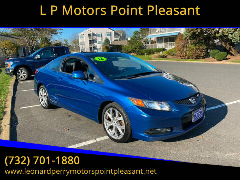 2012 Honda Civic for sale at L P Motors Point Pleasant in Point Pleasant NJ