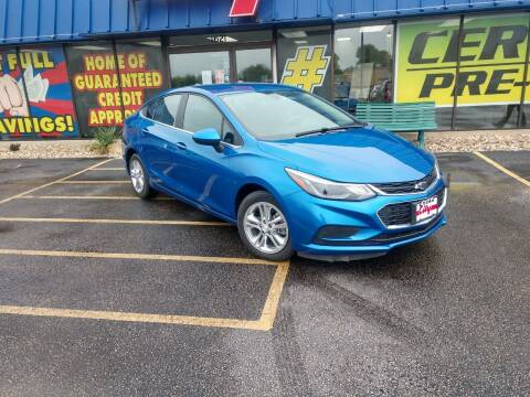 2017 Chevrolet Cruze for sale at CITY SELECT MOTORS in Galesburg IL