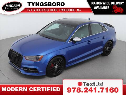 2016 Audi S3 for sale at Modern Auto Sales in Tyngsboro MA