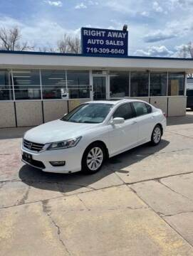 2013 Honda Accord for sale at Right Away Auto Sales in Colorado Springs CO