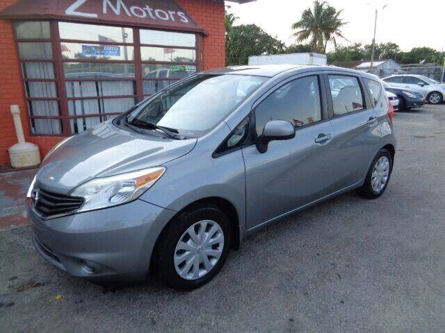 2014 Nissan Versa Note for sale at Z MOTORS INC in Fort Lauderdale FL