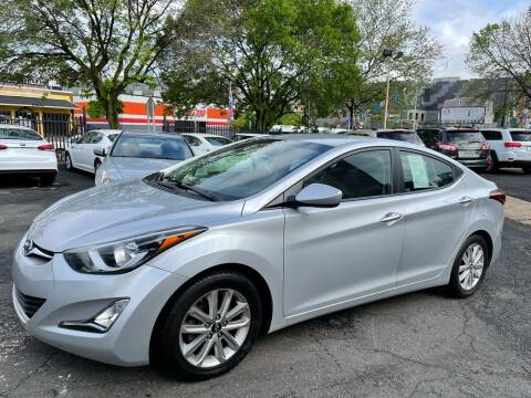 2016 Hyundai Elantra for sale at JOANKA AUTO SALES in Newark NJ