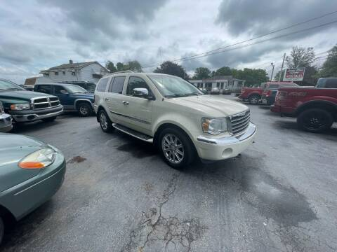 2008 Chrysler Aspen for sale at LAUER BROTHERS AUTO SALES in Dover PA