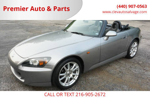 2005 Honda S2000 for sale at Premier Auto & Parts in Elyria OH
