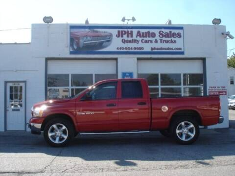 2006 Dodge Ram Pickup 1500 for sale at JPH Auto Sales in Eastlake OH
