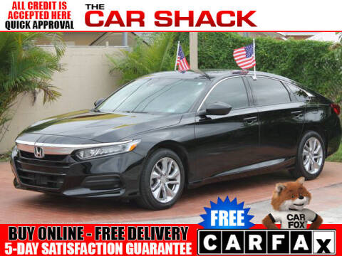 2018 Honda Accord for sale at The Car Shack in Hialeah FL