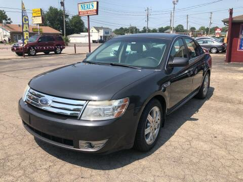 2008 Ford Taurus for sale at Neals Auto Sales in Louisville KY