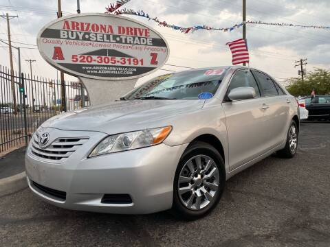 2009 Toyota Camry for sale at Arizona Drive LLC in Tucson AZ