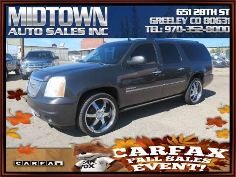 2010 GMC Yukon XL for sale at MIDTOWN AUTO SALES INC in Greeley CO