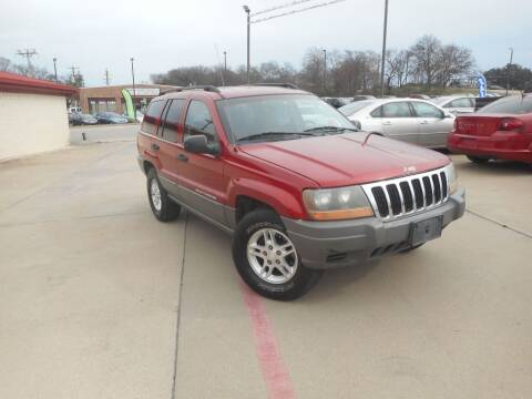 2002 Jeep Grand Cherokee for sale at DFW Auto Leader in Lake Worth TX