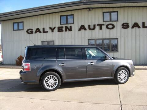 2019 Ford Flex for sale at Galyen Auto Sales Inc. in Atkinson NE