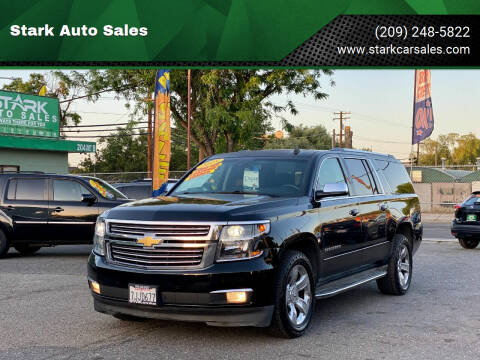 2015 Chevrolet Suburban for sale at Stark Auto Sales in Modesto CA